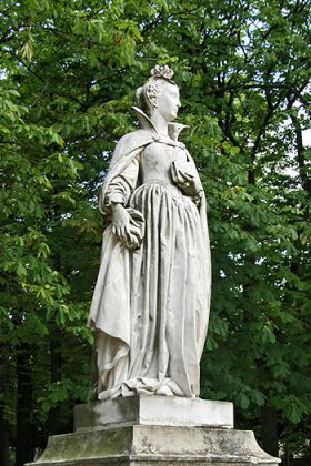 Скульптуры Люксембургский сад