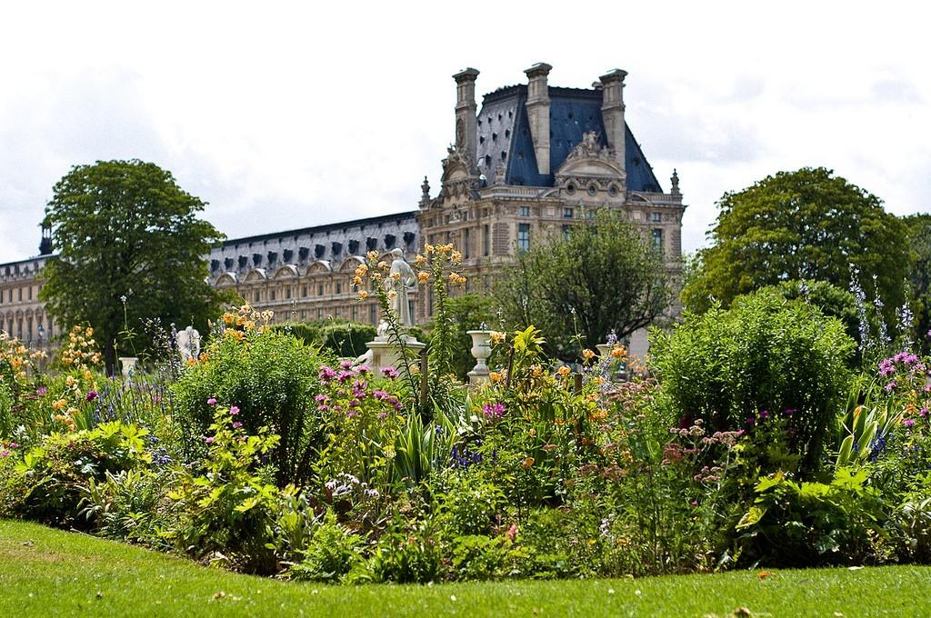 Тюильри в Париже