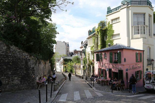 Район Монмартр (Париж)