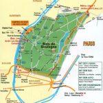 План Булонского леса