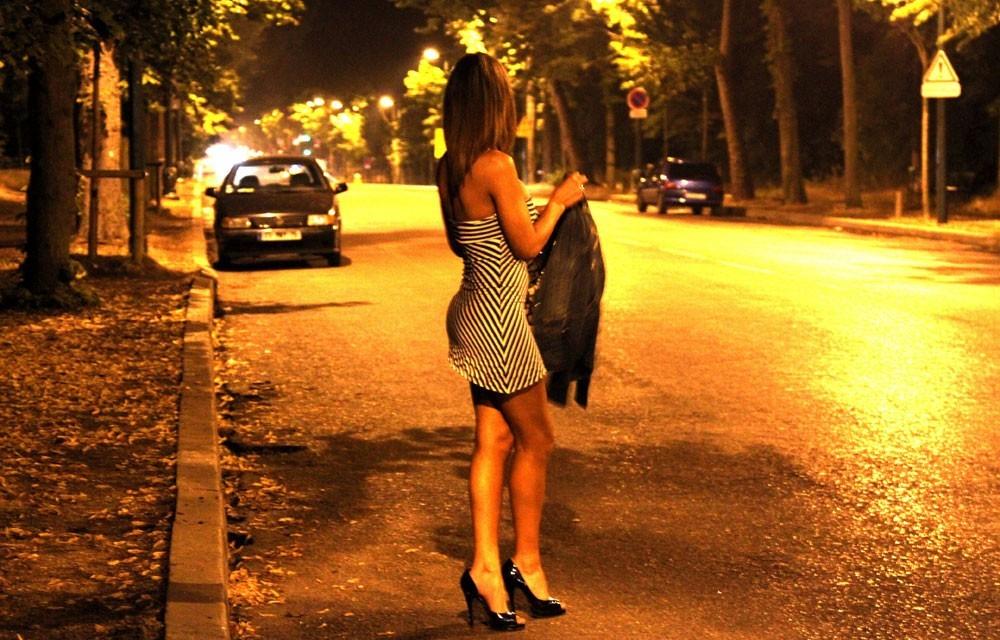 Булонский лес ночью