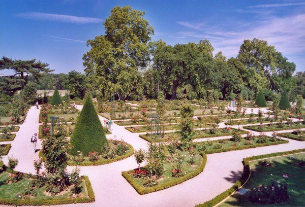 Розарий парка Багатель