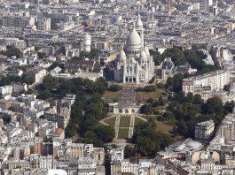 Район Монмартр в Париже