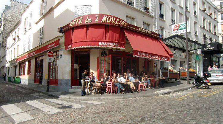 Кафе Амели в Париже