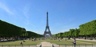 Марсово поле в Париже