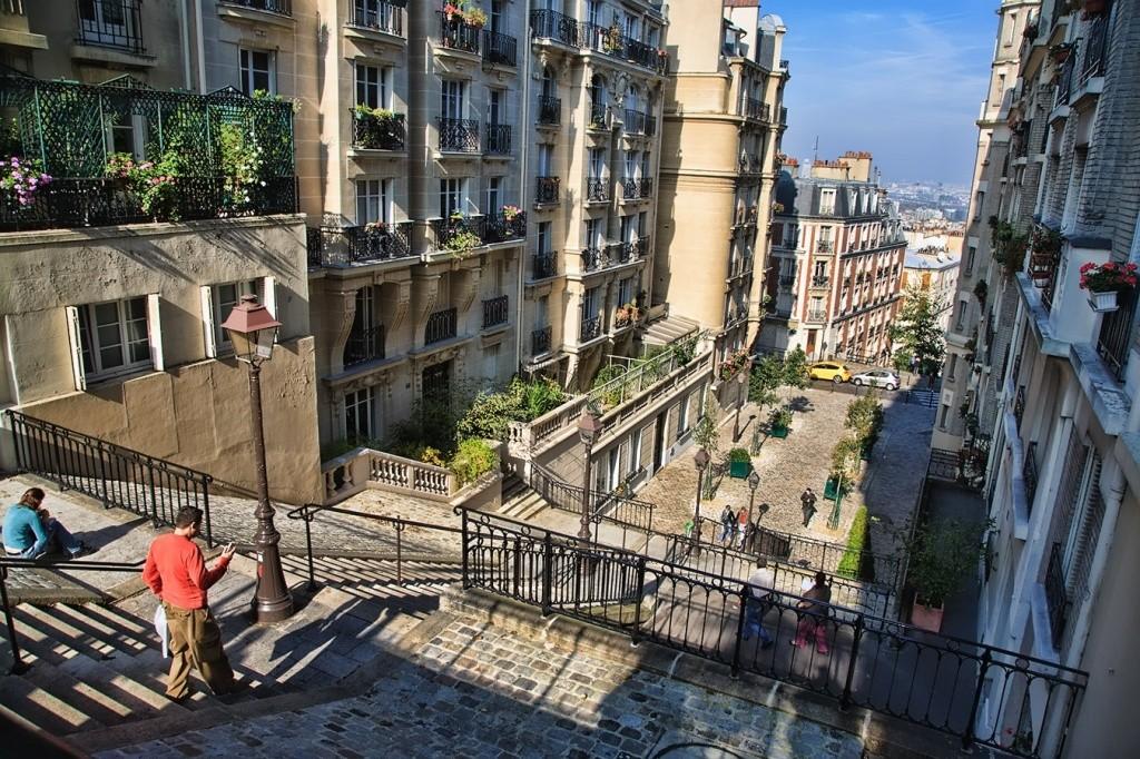 Улицы квартала Монмартр