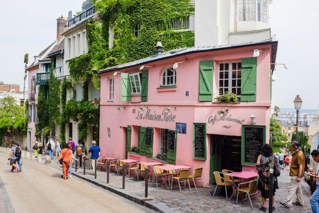 Рестораны в районе Монмартр