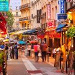 Шопинг в Латинском квартале Парижа