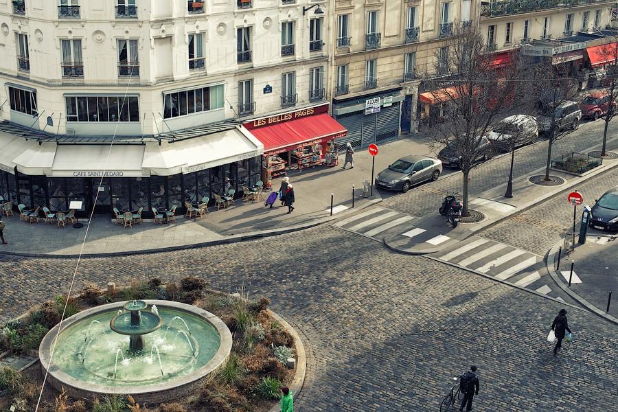 Латинский квартал в Париже