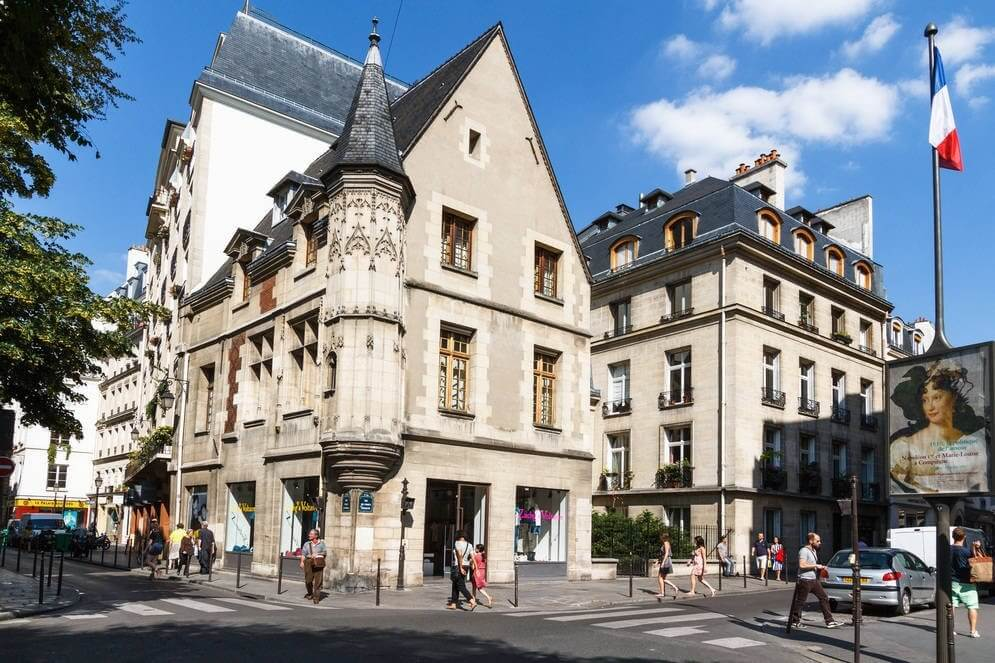 Парижский квартал Марэ