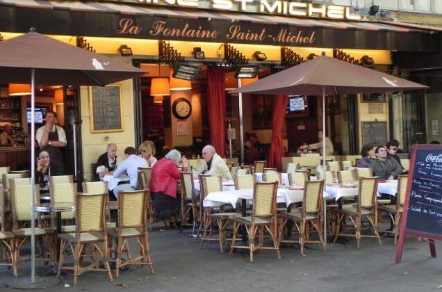 Рестораны в Латинском квартале Парижа
