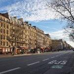 Бульвар Монпарнас в Париже
