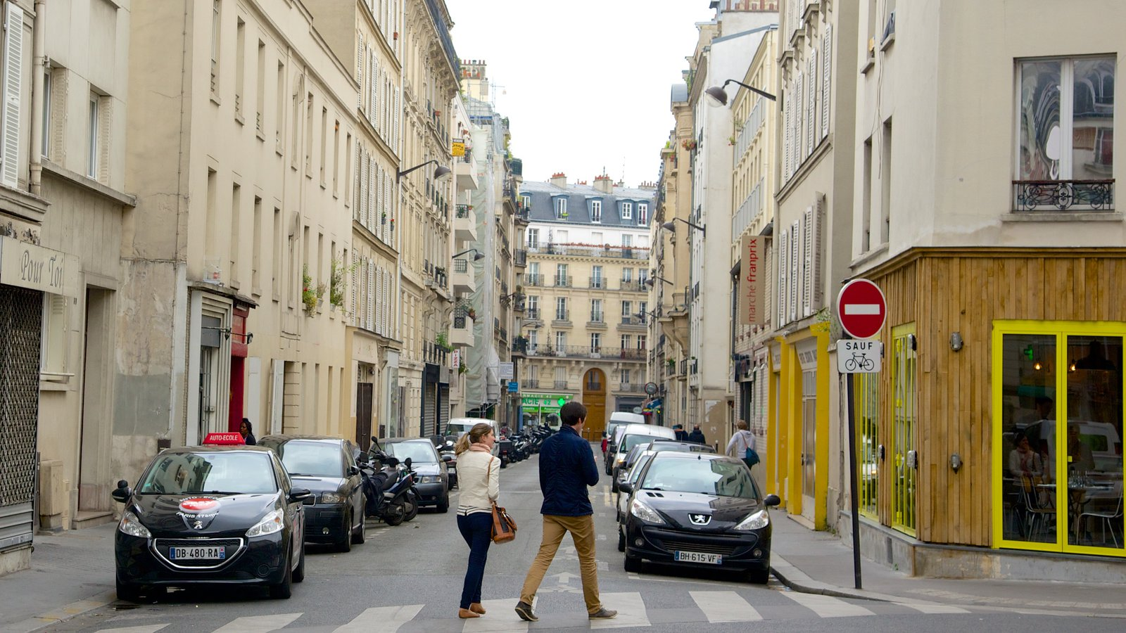 Улицы 17-го округа в Париже