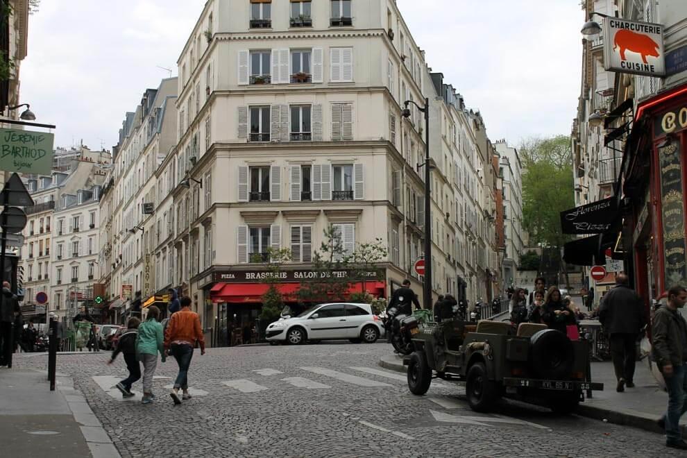 Цветной встречает осень в Париже картинки