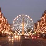 Чертово колесо в Париже