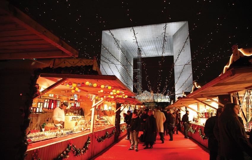 Шопинг в Париже на Новый год