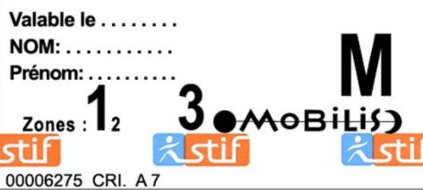 Билеты на метро Парижа