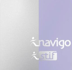 Navigo monthly and weekly travel passes