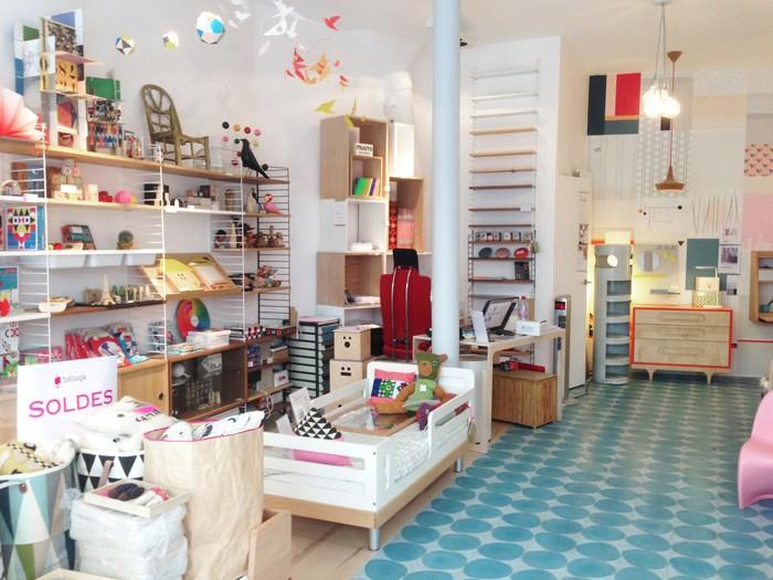 Детские магазины Парижа