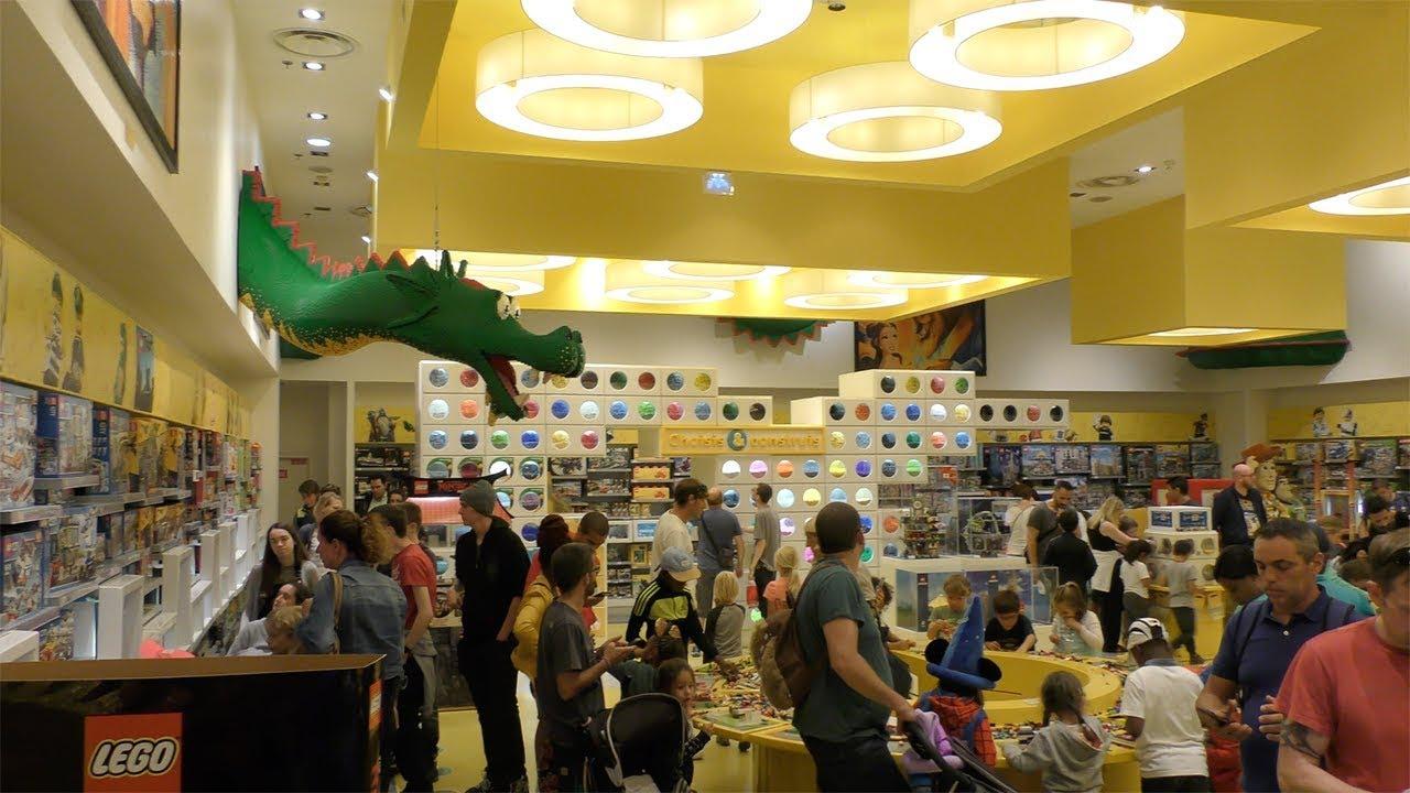 Магазины игрушек в Париже