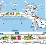Подробная схема аэропорта Орли