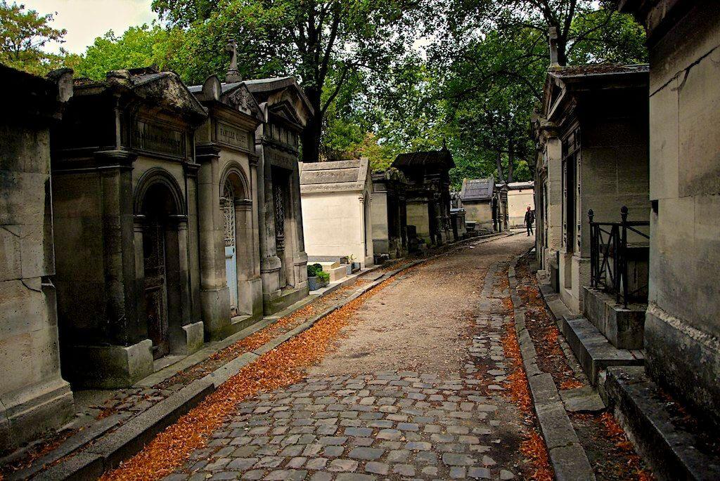 Кладбище в 20-ом округе