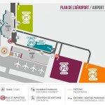 Подробная схема аэропорта Бове