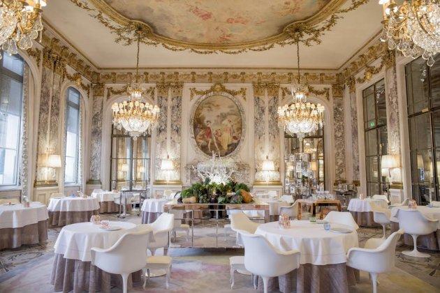 Отель Le Meurice в Париже
