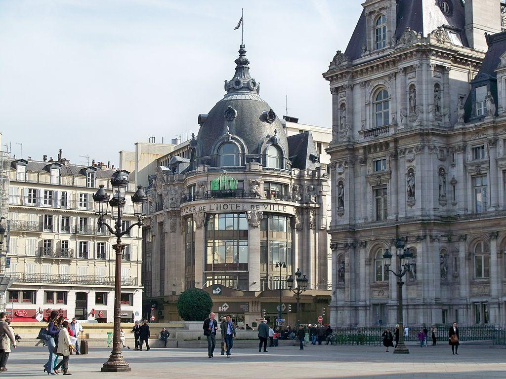 Торговые центры Парижа