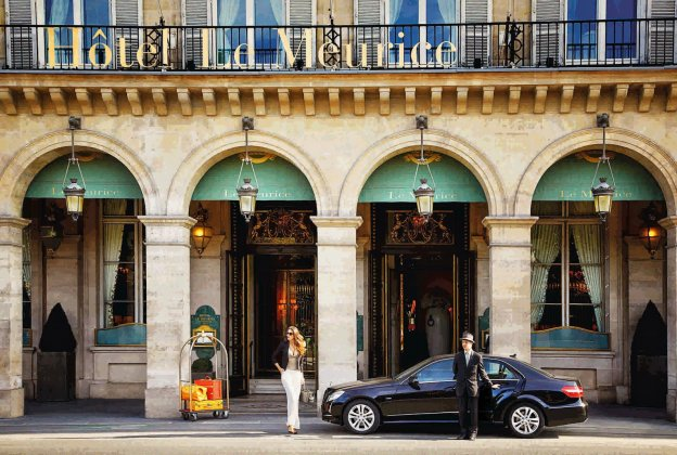 Апартаменты в отеле Le Meurice