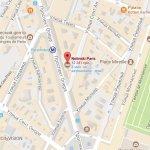 Месторасположение отеля Nolinski Paris