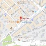 Месторасположение отеля Plaza Athenee Paris