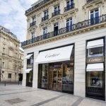Магазин Cartier в Париже