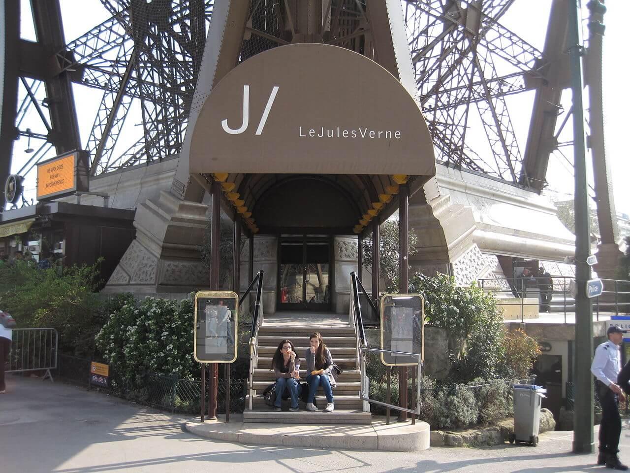 Ресторан Le Jules Verne