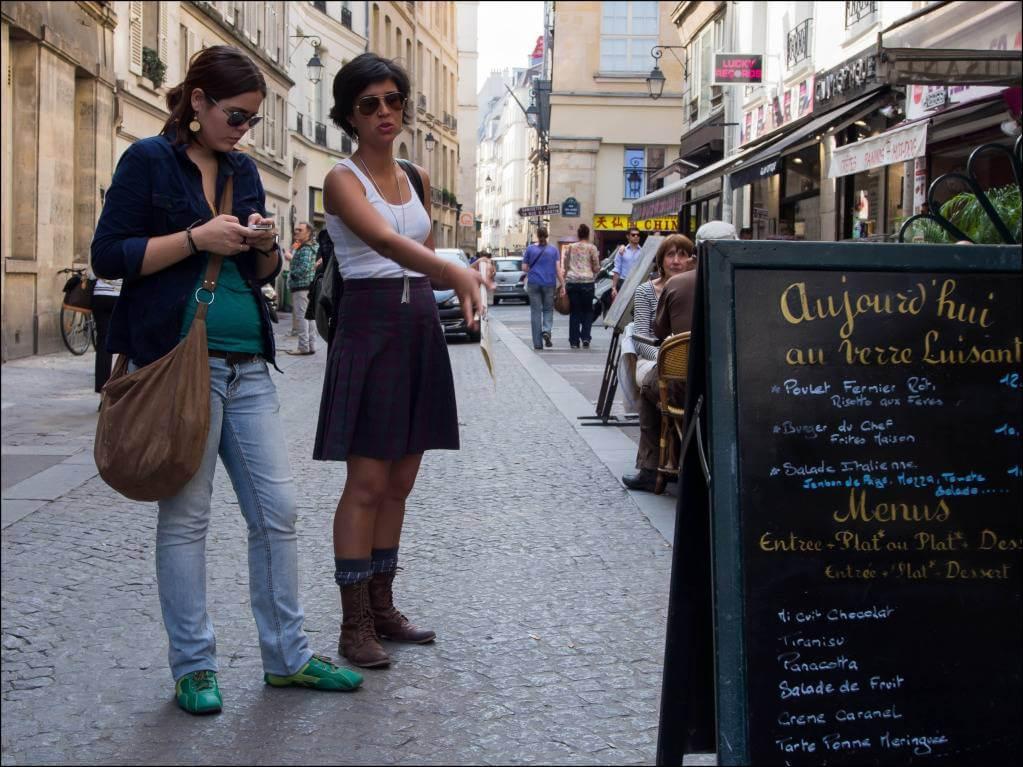 Недорого поесть в Париже