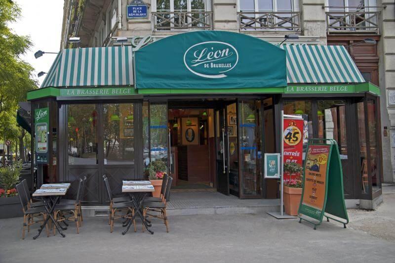 Поужинать в Париже недорого!