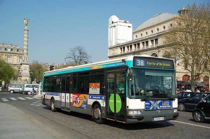 Городской транспорт Парижа