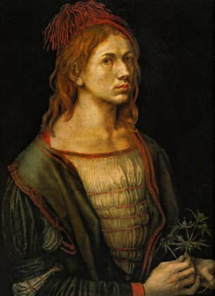 Портрет художника с чертополохом