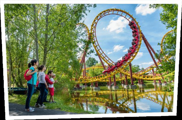 Парк Астерикс в Париже: отдых для всей семьи