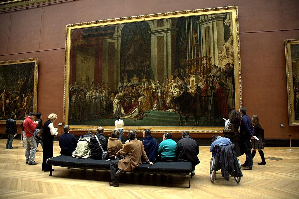 Картина Коронация Наполеона