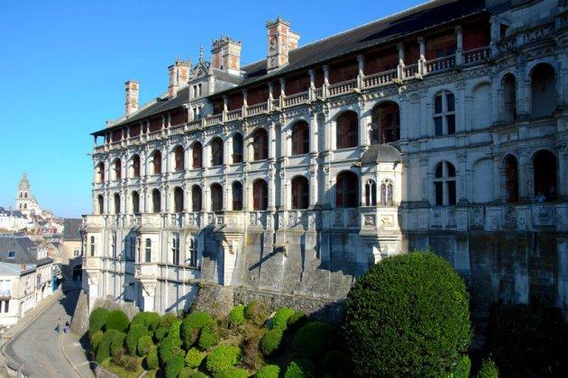 Замок Блуа Франция