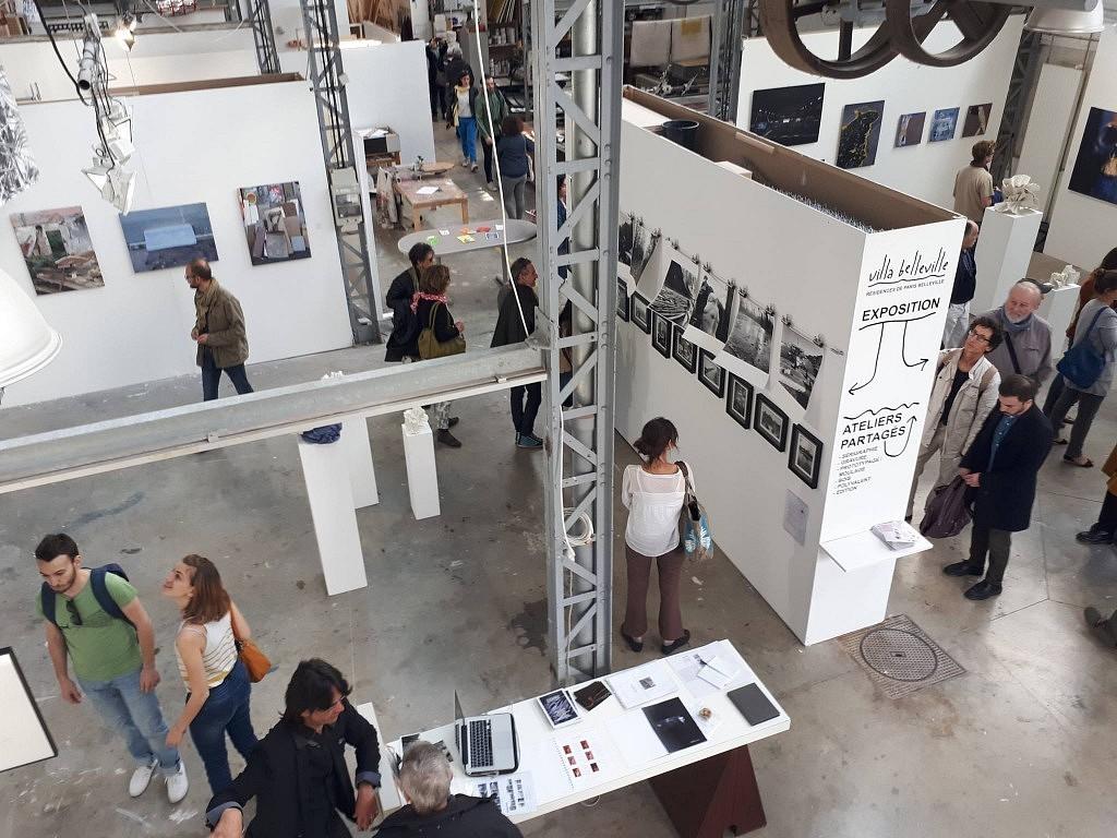 La Galerie des Ateliers d'Artistes de Belleville