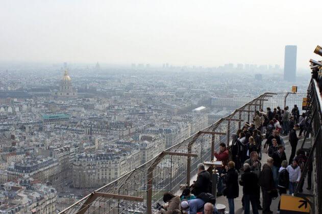 Смотровая площадка на Эйфелевой башне