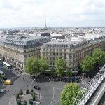 Смотровые площадки в торговых центрах Парижа