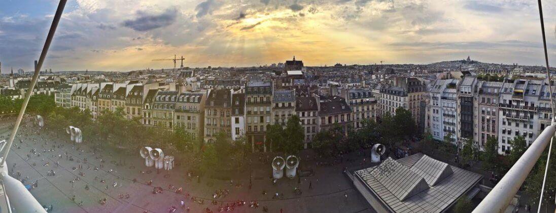 ТОП 11 смотровых площадок в Париже + панорама