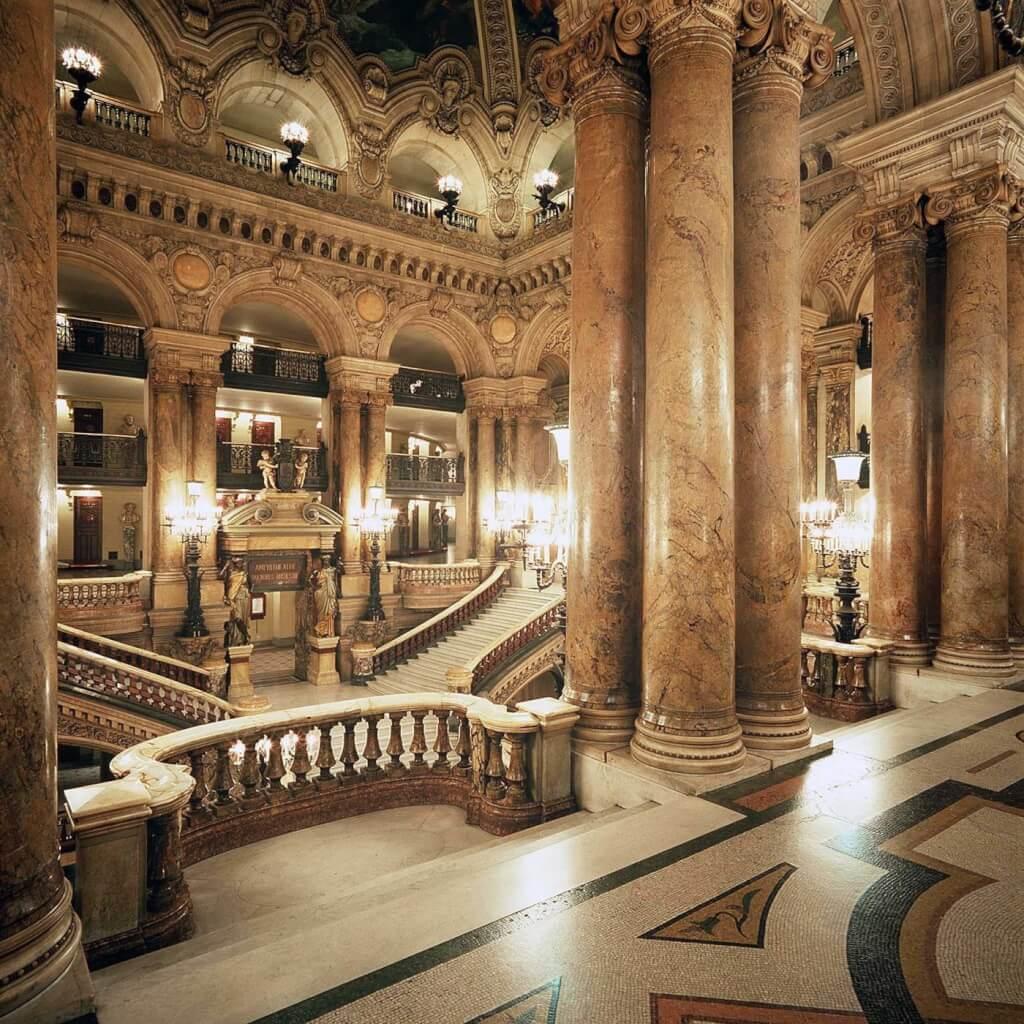 Опера Гарнье (Гранд Опера) в Париже