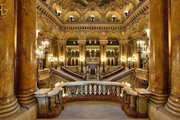 Опера Гарнье внутри