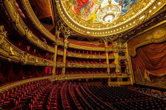 Гранд Опера внутри