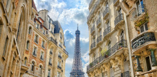 Самый лучшие места с видом на Эйфелеву башню
