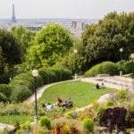 Парк Parc de Belleville